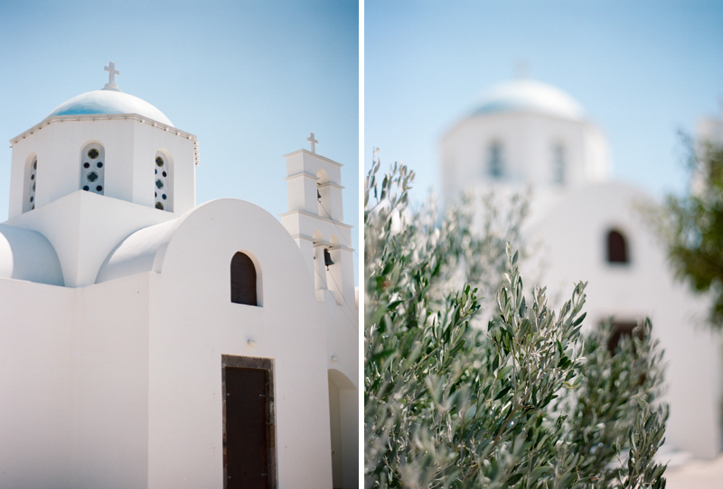 white church and olive
