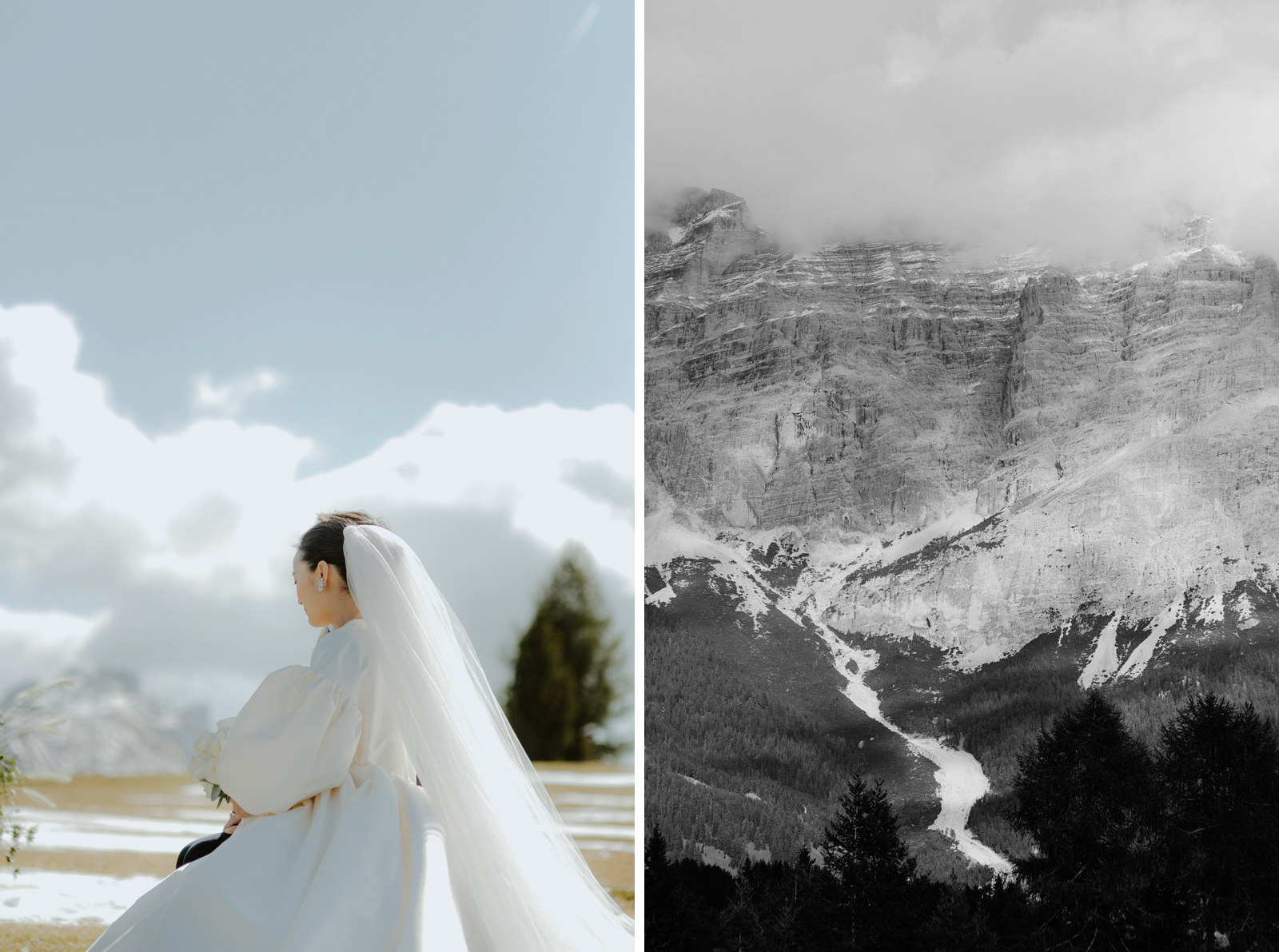 wedding in the Dolomites