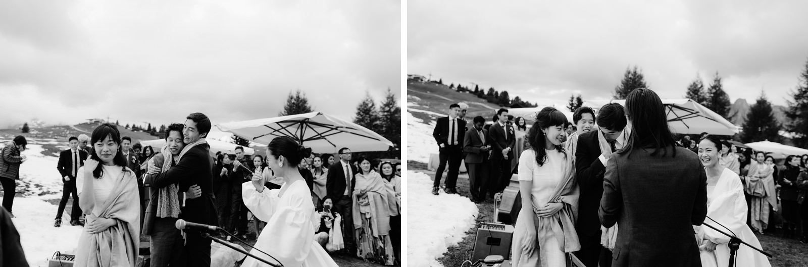 Mountain Wedding Reception