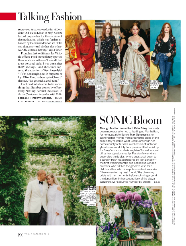 Wedding on Vogue