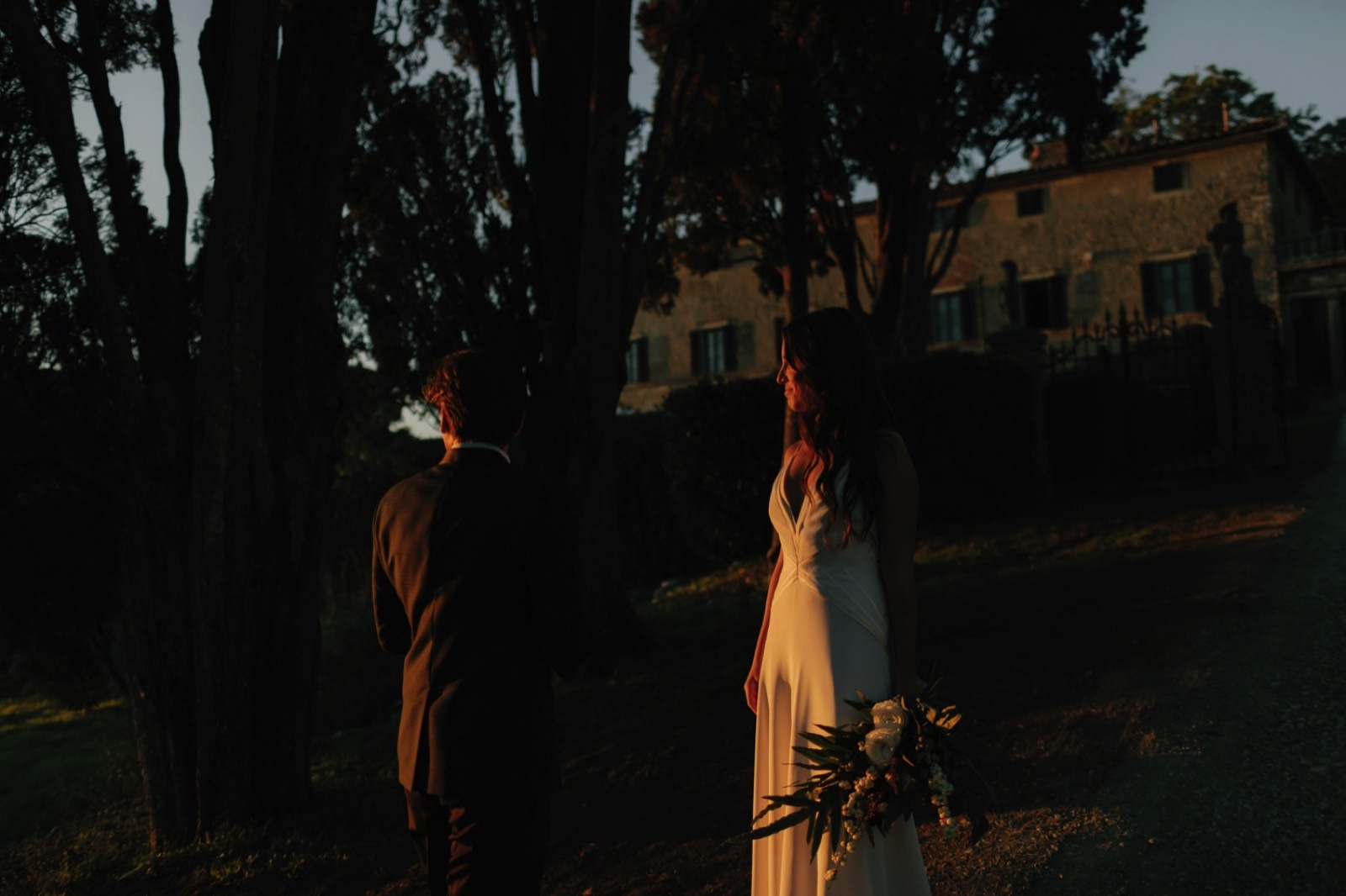Candlelit Wedding at Borgo Stomennano