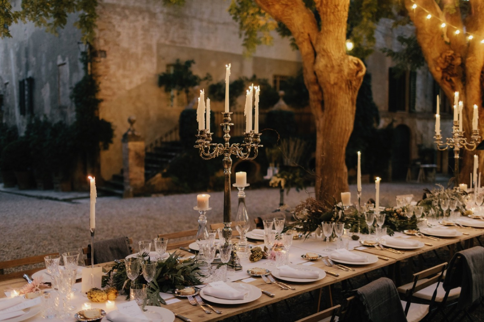 Borgo Stomennano Candlelit Wedding