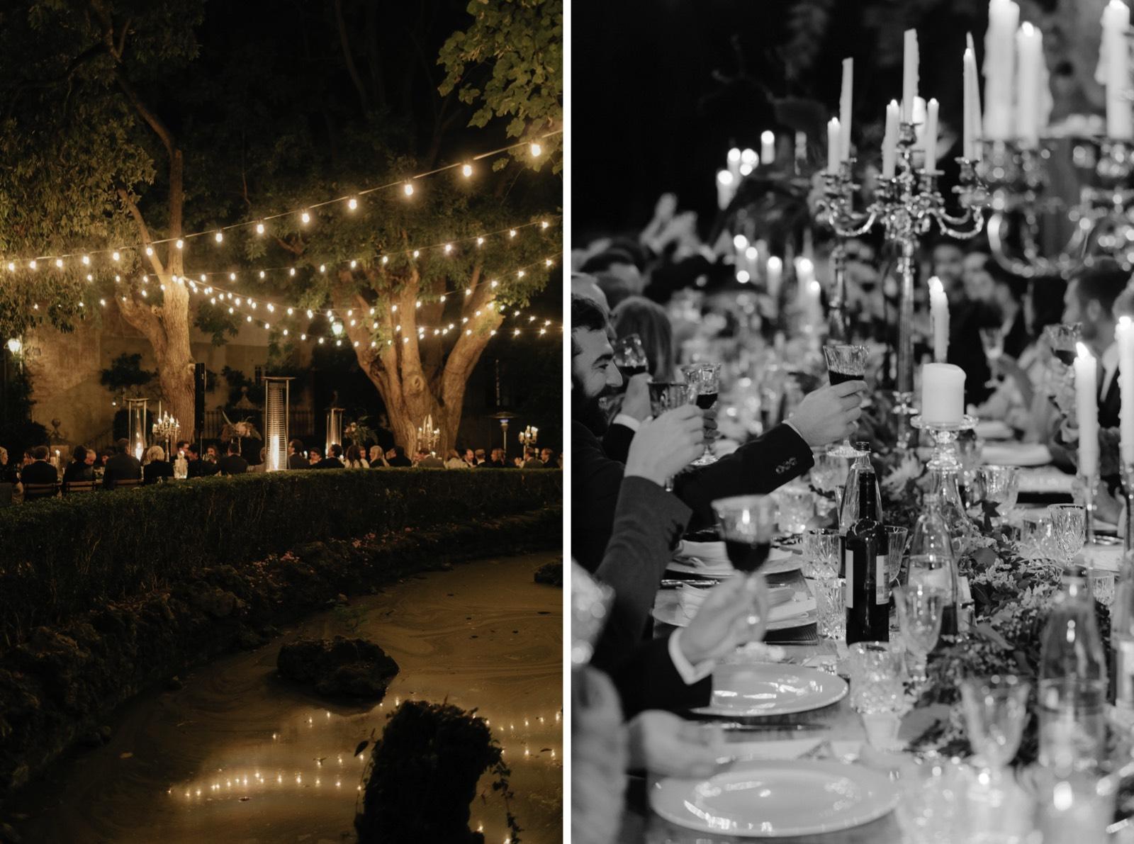 Candlelit Wedding at Borgo Stomennano