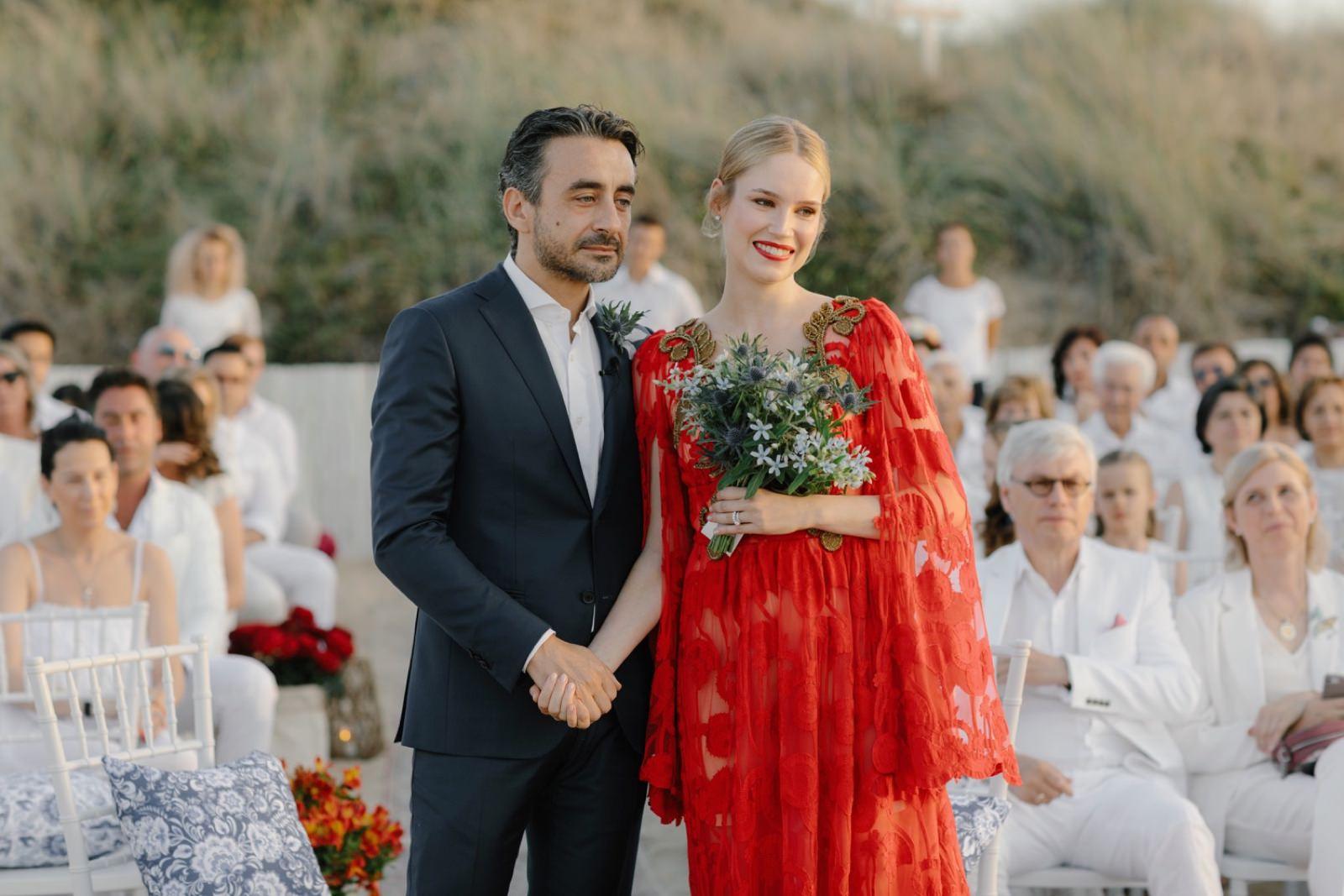 Alena Akhmadullina wedding