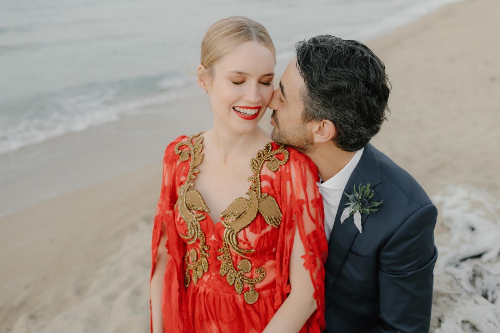 Alena Akhmadullina bride