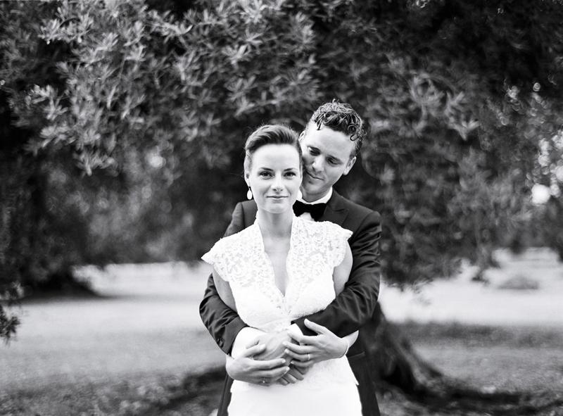 Bride and Groom on Film