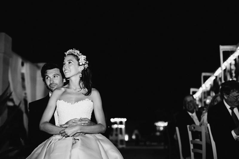 bride and groom at masseria potenti