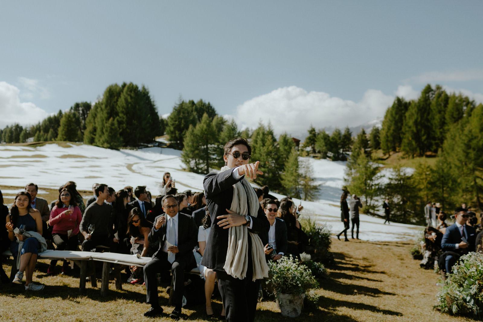 WEDDING ON DOLOMITES