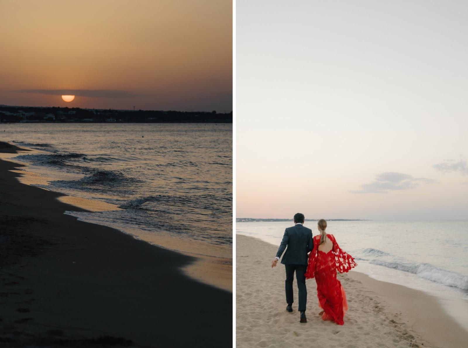 wedding at torre coccaro beach