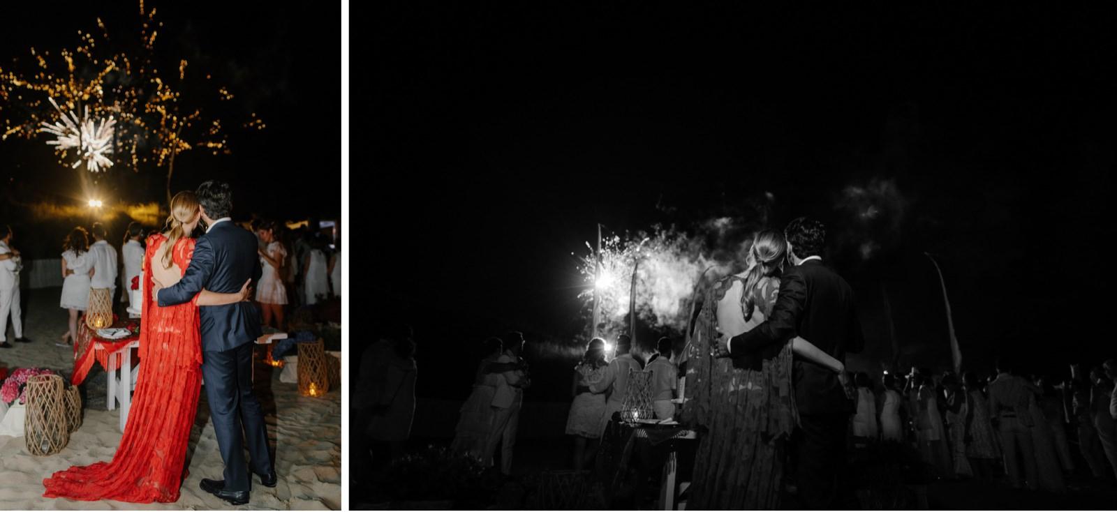 wedding fireworks in apulia