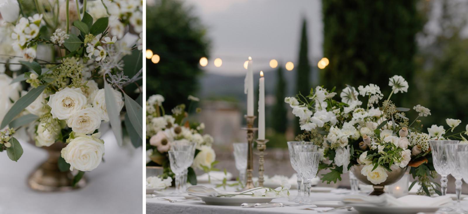 reception Tuscany wedding