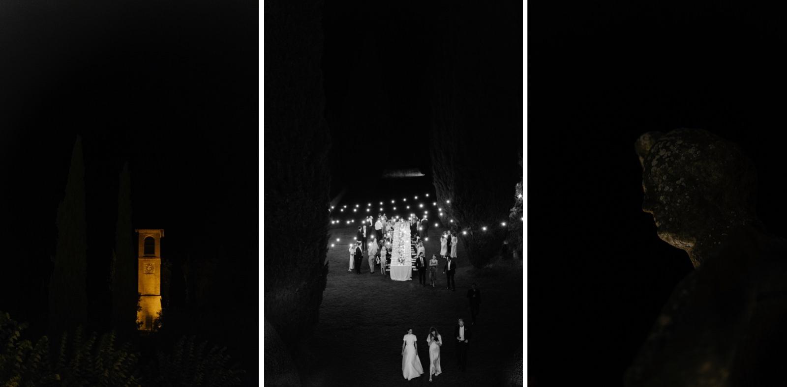 wedding reception in a Tuscany villa